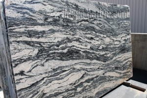 Black Spectrus Polished Slab-Granite
