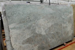 Caribbean Green Granite Slab