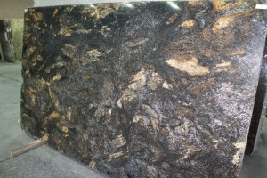 Cosmos Gold Granite Slab