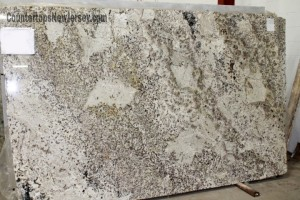 Giacial White Granite slab