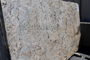 Golden Crema Polished Granite Slab