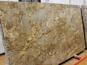 Golden Crystal Granite Slab brazil
