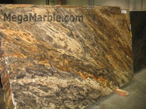 Granite countertops golden thunder