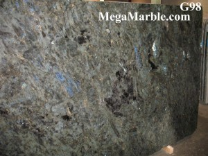 Labradorite Blue River Granite Slab www.MegaMarble (Medium)