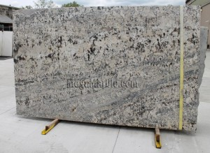 White Persia Granite slab