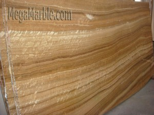 Onyx Slab Wood Vein