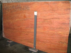 travertine rosso Marble Slab M